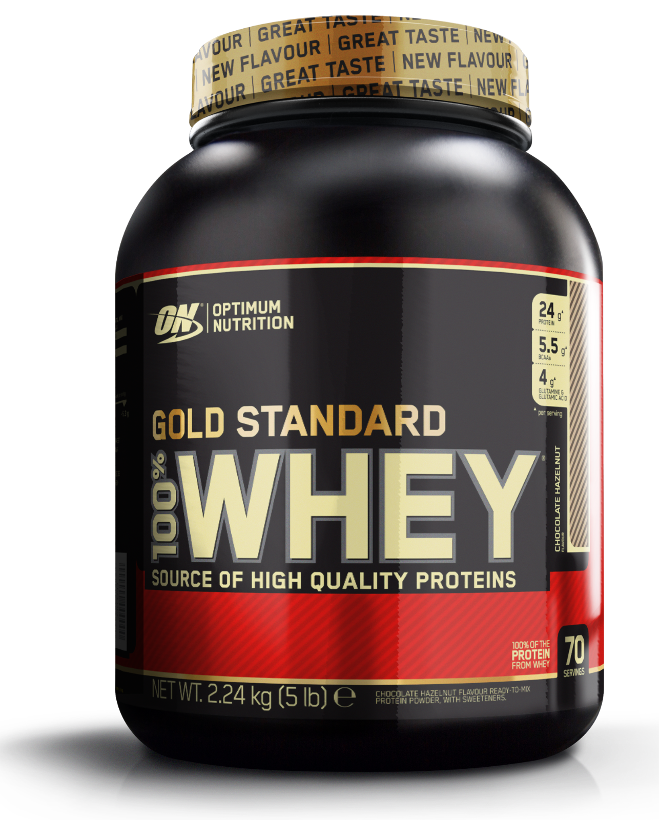 Optimum Nutrition Gold Standard 100 Whey Whey 100 Protein ON 2lb 5lb 10lb All Flavours 2541c9