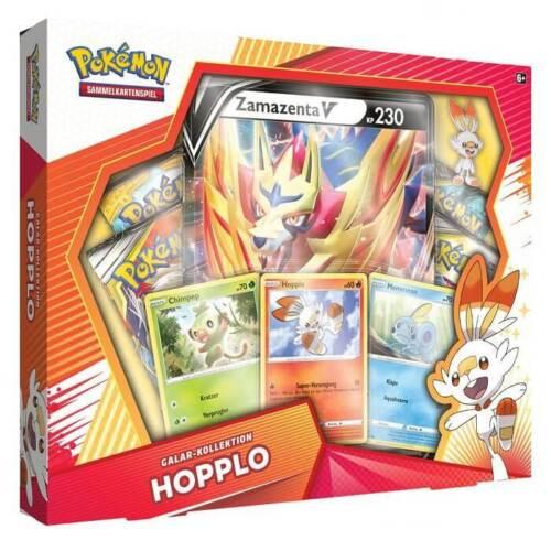 NEU /& OVP Pokemon Karten ★ Galar Kollektion Hopplo  ★ 4 Booster