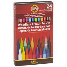 Koh-I-Noor Woodless 24 Color Pencil Set