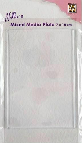 Rectangle 7x10cm NMMP003 Mixed Media Gel Plate Nellie/'s Choice Free P/&P
