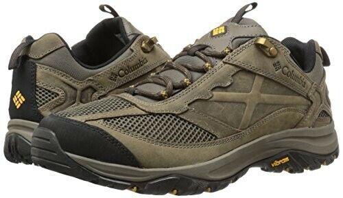 Columbia Men's Terrebonne Hiking shoes, Mud, Squash, 12 D US