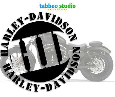 1 Adhesive Harley Davidson Helmet Tank Logo Stickers Vinyl Motorcycle Pegatinas Ebay