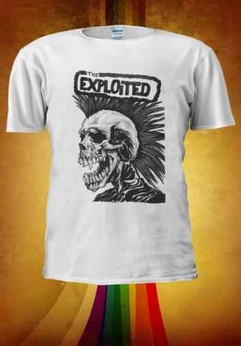 The Exploited Rock Band Stevie Men Women Unisex TShirt Vest Baseball Hoodie 2831