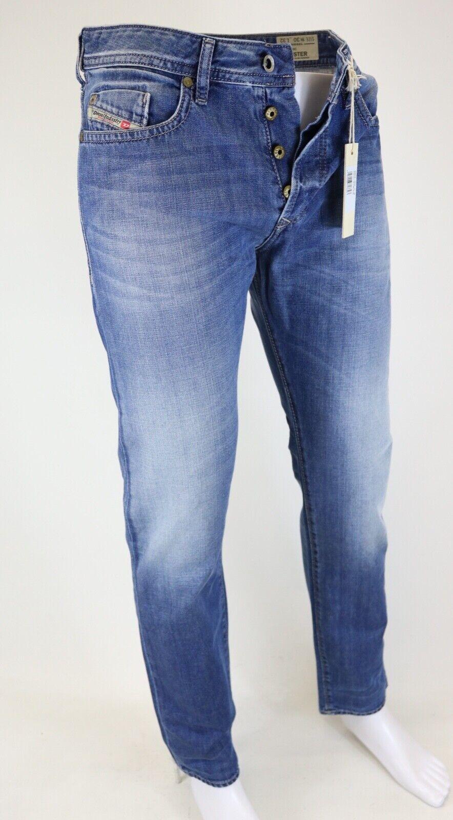 Diesel Buster Wash 0839c caballeros  Jeans Hose Pants regular slim taperojo elegibles  100% garantía genuina de contador