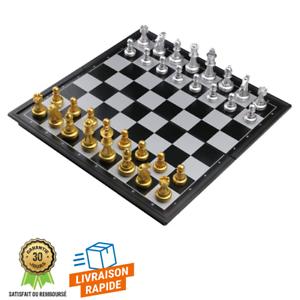 Jeu-Echecs-Magnetique-Plateau-Pliable-Loisirs-Strategie-Jeux-de-societe-Enfants