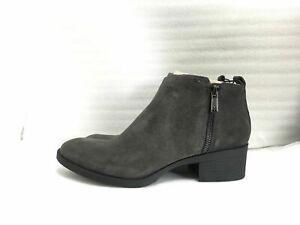 Kenneth-Cole-New-York-Women-039-s-Levon-Ankle-Bootie-Asphalt-Size-9