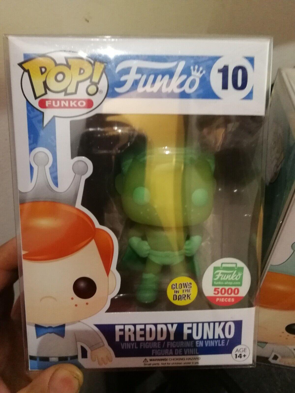 Funko Pop  Frotdy Funko Superhero Glow in the Dark LE 5000 Rare