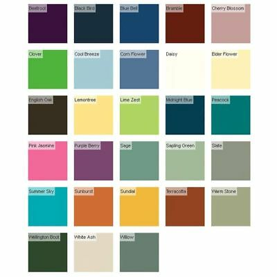 Ronseal Outdoor Garden Paint Various Colours For Exterior Wood Metal Stone Brick Ebay