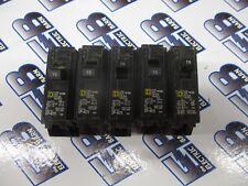 Square D Hom115 1 Lot Of 5 15 Amp 120 Volt 1p Circuit Breaker Warranty
