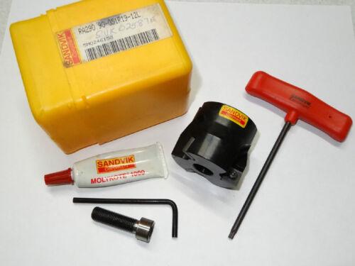 "SANDVIK CoroMill 290 RA290.90-051R19-12L 2/"" Square Mill Shoulder Facemill Cutter"