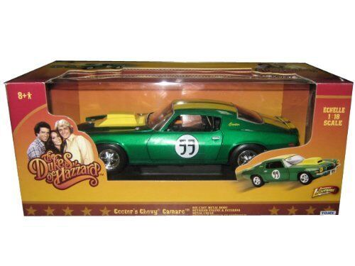 1 18 JOHNNY LIGHTNING AUTO COOTER 'S CHEVY CAMARO DUKES OF HAZZARD ART. 21958