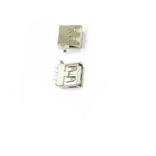 10PCS USB Type A Female Socket A//F 90 degree Female Socket Connector NEW