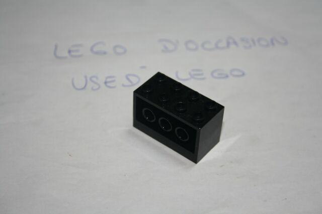 Lego - Convertisseur Montage Bloc 2x4x2 NOIR/BLACK - 6061       OCCASION/USED