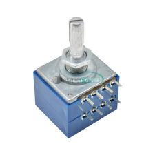 Potentiometer 100k Log Alps Audio Amp Volume Control Pot Stereo W Loudness