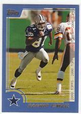 RAGHIB ROCKET ISMAIL 2000 Topps Football card #186 Dallas Cowboys NR MT