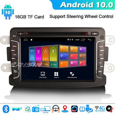 8-Kern DSP DAB Android 10 GPS Autoradio Renault Dacia Duster Logan Dokker Lodgy