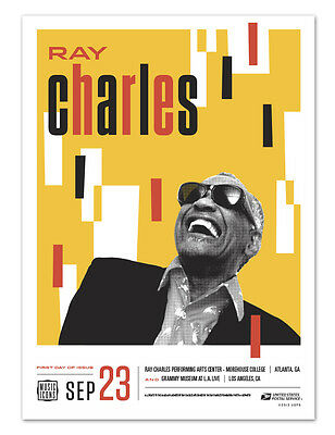 USPS New Ray Charles Poster