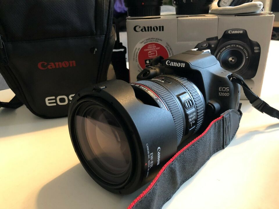 Canon, Eos 1200D, spejlrefleks