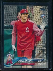 2018-Topps-Series-2-Shohei-Ohtani-700-SP-RC-Photo-Variation-Short-Print-Rookie