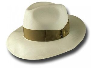 100% genuino vendita scontata abbastanza economico Details about Trilby hat 140340 Fedora Panama Montecristi 7,5 CM B- show  original title