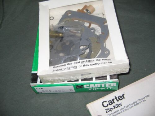 """DODGE PLYMOUTH 318/"""" V8 CARTER /'BBD/' 2-BARREL CARB KIT 1970 1971 1972 1973 1974"""