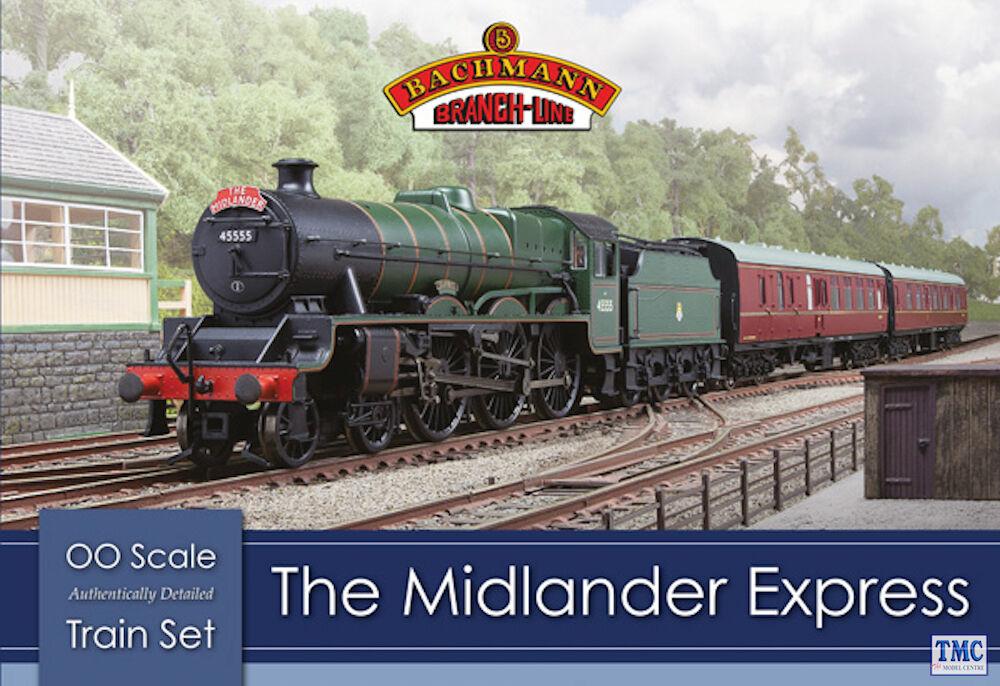30-285 Bachmann OO Gauge The Midlander Express