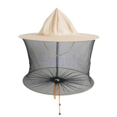 Beekeeping Beekeeper Head Face Protection Veil Hat Mosquito Helmet Thicker TW