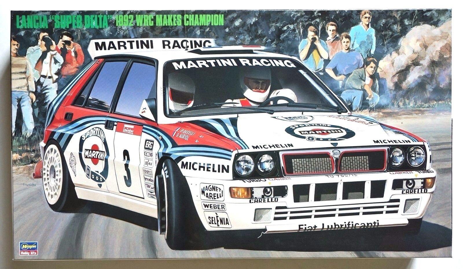 HASEGAWA 1 24 Lancia Super Delta 1992 WRC makes champion scale model kit