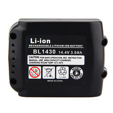 14.4V 3.0AH MAKITA LI-ION Battery 194065-3 194066-1 BL1430 DA340DRF BDF343