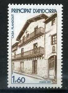 ANDORRE-Fr-1983-timbre-326-Maison-Plandolit-neuf