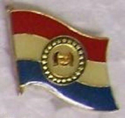 Hat Lapel Pin Tie Tac Push Flag of Romania NEW