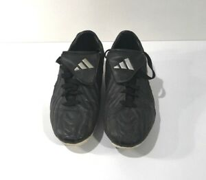 buy online 8ae83 119fd Image is loading ADIDAS-Soccer-Shoes-Cleats-Black-Size-7-Girls