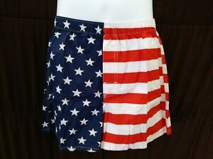 ce8ee8f03f92 NWT Old Navy Mens American Flag Pattern Boxers Size LARGE 36-38 ...