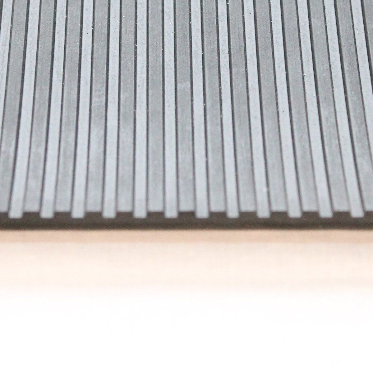 Breitriefenmatte 3mm 1200x5000mm Nero Tappetino in Gomma Profilmatte