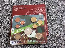 """Coffret Italie 2008 : 8 pièces de 1 ct à 2 € + 1 de 5 € en argent """"30e ann.IFAD"""""""