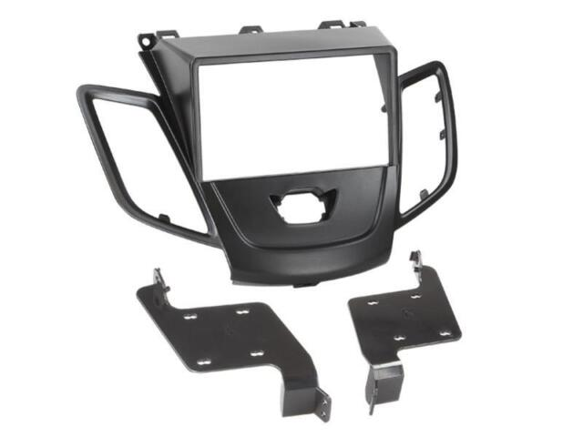 ford fiesta mk7 car radio panel mounting frame 2 din. Black Bedroom Furniture Sets. Home Design Ideas