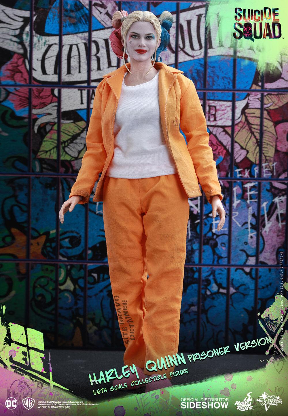 Suicide Squad 12 Inch Figure MMS - Harley Quinn Prisoner Version Hot Toys 902949