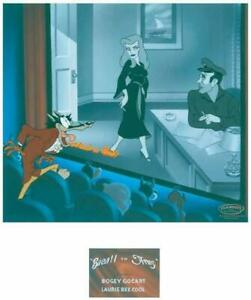 Warner Brothers-Bacall To Arms Limited Edition Cel Signed By Lauren Bacall