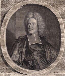 Portrait-XVIIIe-Jean-Paul-Bignon-Abbe-Predicateur-de-Louis-XIV-Oratoire-1786