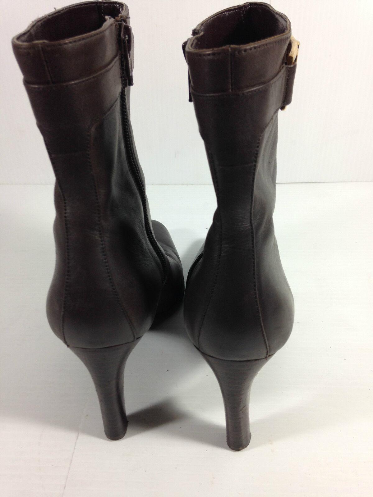 Ralph Lauren Braun Größe Ankle Bootie Größe Braun 9 US. 72a528