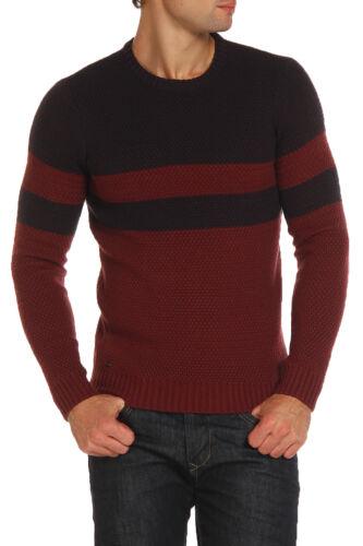 Pull homme le shark adu fashion knitwear pull à encolure ras-du-cou laine mix