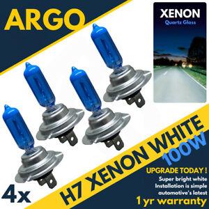 4x-H7-Xenon-Blanco-Azul-Bombillas-Halogenas-499-100w-Bombillas-Faro-Coche-12v