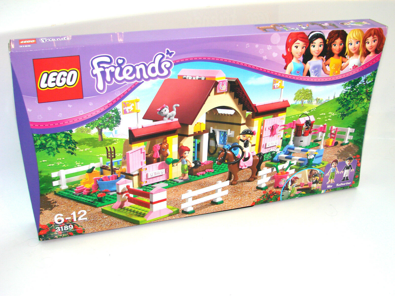 LEGO ® Friends 3189 SCUDERIA NUOVO OVP _ Heartlake Stables NEW MISB NRFB