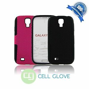 Hybrid-Rugged-Defender-Net-Hard-Case-Cover-Soft-Case-For-Samsung-Galaxy-S4-I9500