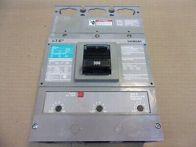NEW SIEMENS JD JD63F400 400 AMP TRIP 600V 3 POLE BREAKER