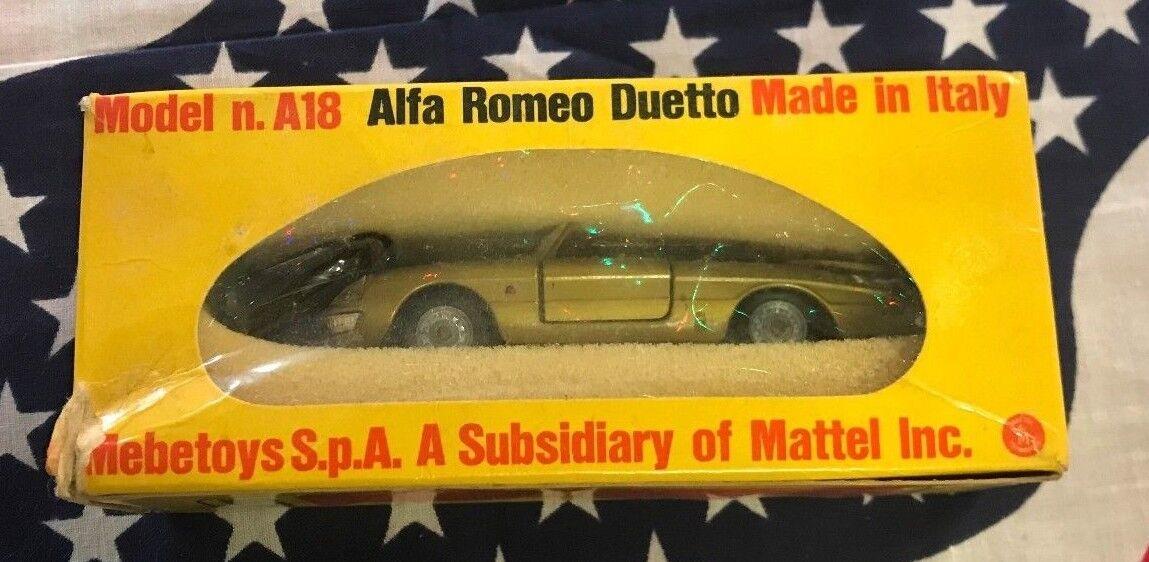 Mebetoys 1  43 Scale Alfa Romeo Duetto Spyder A18 Complete with Box  pas cher et de haute qualité