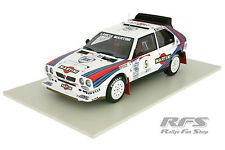 Lancia Delta S4 Rally Gr.B Team MARTINI Biasion Rallye 1986 1:18 AutoArt 88621