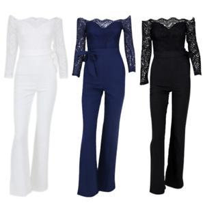 Einteiler-Overall-Damenoverall-Spitzenoverall-NEU-Jumpsuit-festlich-S-M-L-XL