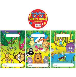 20 Niño Niña Niños Niños Cumpleaños Fiesta Jungla Selva mixta Diseño X00 489