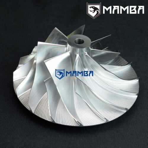86.73 // 141 MAMBA Turbo Billet Compressor Wheel For Holset Cummins HX82 8+8